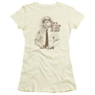 Andy Griffith/No Jerk Junior Sheer in Cream