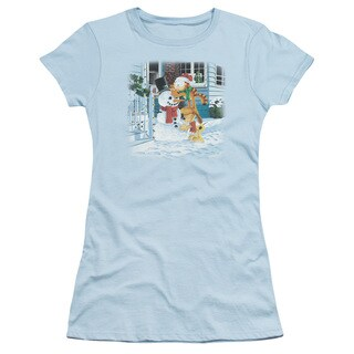 Garfield/Snow Fun Junior Sheer in Light Blue