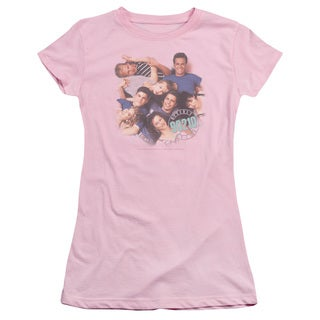 90210/Gang in Logo Junior Sheer in Pink