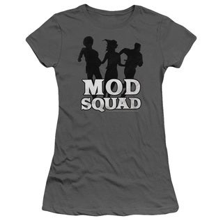 Mod Squad/Mod Squad Run Simple Junior Sheer in Charcoal