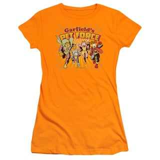 Garfield/Pet Force Burst Junior Sheer in Orange
