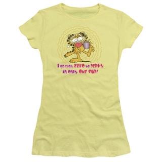 Garfield/From Zero To Perky Junior Sheer in Banana