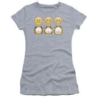 Garfield/Emojis Junior Sheer in Athletic Heather