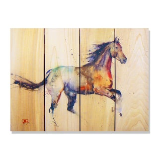 'Free Spirit' Cedar Wall Art