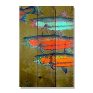 Dean Crouser 'School's In' 16-inch x 24-inch Indoor/Outdoor Full-color Cedar Wall Art