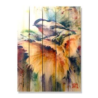 Dean Crouser Sunny Day 28-inch x 36-inch Indoor/Outdoor Full Color Cedar Wall Art