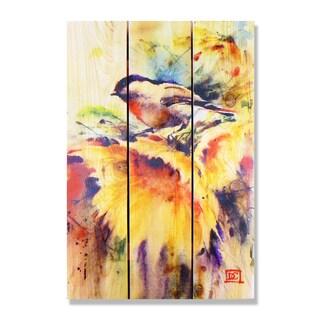 Dean Crouser Sunny Day Indoor/Outdoor Full-color Cedar Wall Art