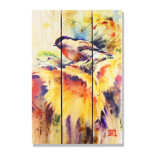 Dean Crouser Sunny Day Indoor/Outdoor Full-color Cedar Wall Art ...