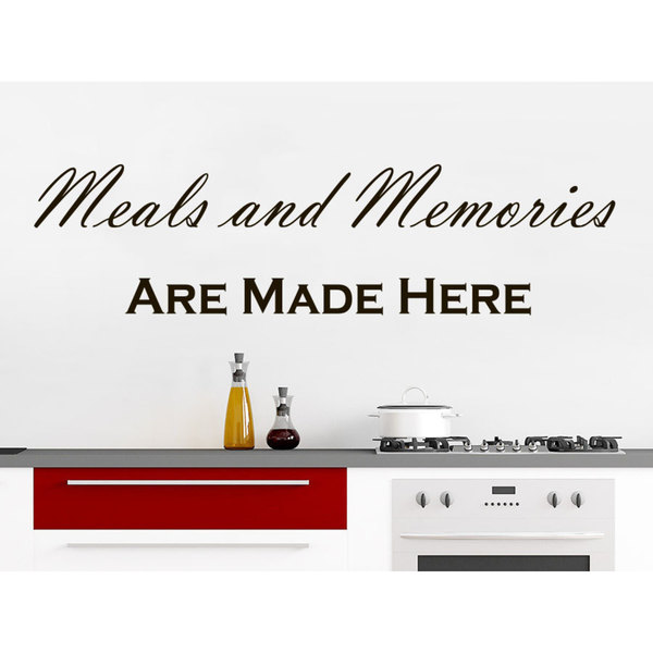 Memories are Made Here Wall Quote Sticker ART