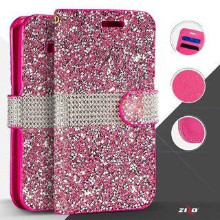 Insten Leather Diamond Bling Case Cover For LG K7