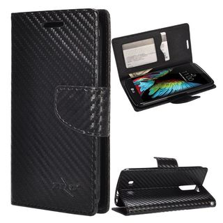 Insten Leather Case Cover with Stand/ Wallet Flap Pouch For LG K10