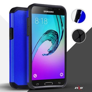 Insten Hard PC/ Silicone Dual Layer Hybrid Rubberized Matte Case Cover For Samsung Galaxy E5