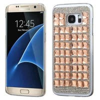 Insten Hard Snap-on Diamond Bling Case Cover For Samsung Galaxy S7 Edge