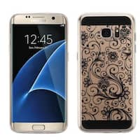 Insten Four-leaf Clover TPU Rubber Candy Skin Case Cover For Samsung Galaxy S7 Edge
