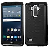 Insten Hard PC/ Silicone Dual Layer Hybrid Rubberized Matte Case Cover For LG G Stylo