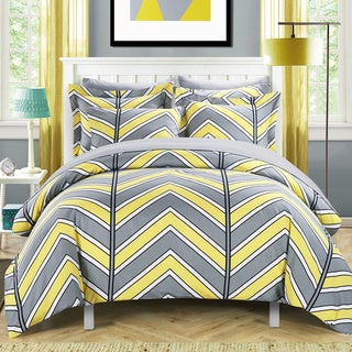 Chic Home Dallas Yellow 9-Piece Bed in a Bag with Sheet Set