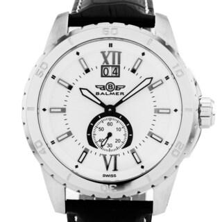 Balmer DB9 Men's Textured Dial Ronda 6004.B Movement Sapphire Crystal Swiss Luxury Watch