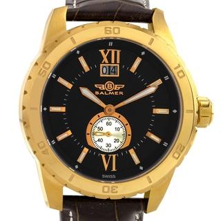 Balmer DB9 Men's Swiss Textured Dial Ronda 6004.B Movement Sapphire Crystal Luxury Watch