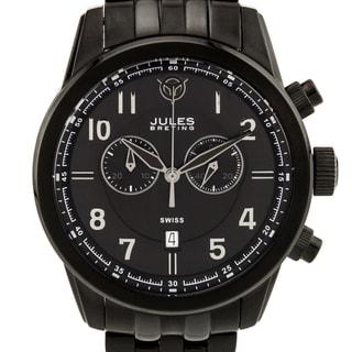 Jules Breting Geidi Prime Men's Swiss Quartz Chronograph Sapphire Crystal Superluminova Watch