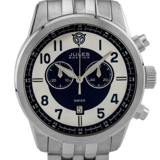 Jules Breting Geidi Prime Men's Chronograph Sapphire Crystal Superluminova Swiss Quartz Watch