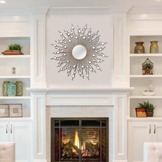 Stratton Home Decor Indoor Sunburst Wall Mirror