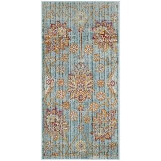 Safavieh Sevilla Blue/ Multi Viscose Rug (2'1 x 4')
