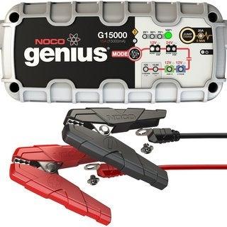 NOCO G15000 Genius Pro Series 12-volt/24-volt 15A UltraSafe Smart Battery Charger