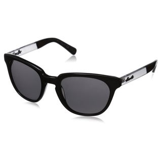 Kenneth Cole New York Men's KC7143W5201A Black Wayfarer Sunglasses