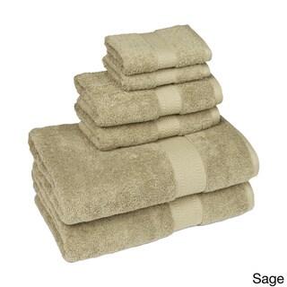 100 Percent Organic Cotton Six-Piece Towel Set