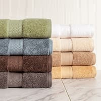 100 Percent Organic Cotton Six-Piece Towel Set - N/A