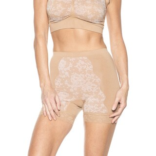 Rhonda Shear Seamless Jacquard Women's Pin-up Panty
