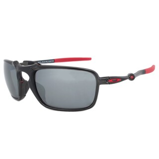 mens oakleys jtld  Oakley Badman Polarized Ferrari Edition Sunglasses OO6020-07