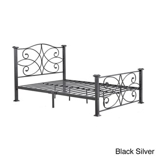 Laurel Creek Minnie Multicolored Iron/Metal Panel Bed (More options available)