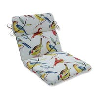 Pillow Perfect Outdoor/ Indoor Bird Watchers Summer Rounded Corners Chair Cushion