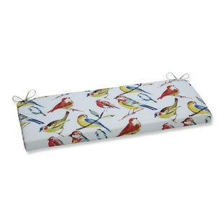 Pillow Perfect Outdoor/ Indoor Bird Watchers Summer Bench Cushion
