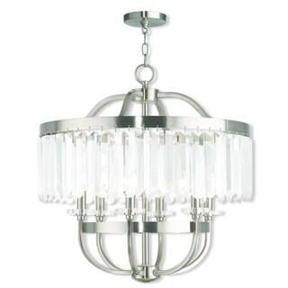 Livex Lighting Ashton Brushed Nickel 6-light Chandelier