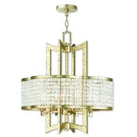Livex Lighting Grammercy Gold Crystal Chandelier