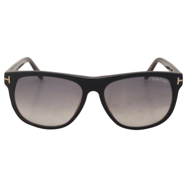54beda57add Shop Tom Ford FT0236 05B Olivier - Shiny Black - Free Shipping Today ...