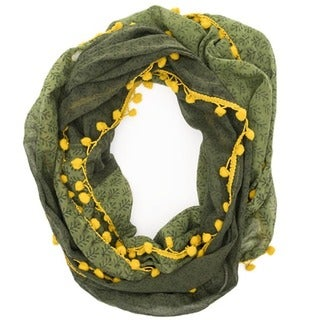 Ombre Grove Fern Infinity Scarf (India)