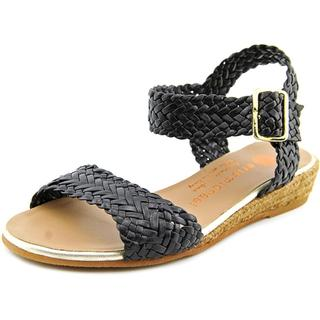 Eric Michael Women's Tally Lexi Black Leather Sandals