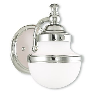 Livex Lighting Oldwick Polished Chrome 1-light Bath Vanity