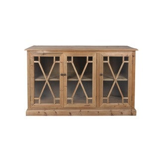 Aurelle Home French Antique 3-door Cabinet