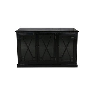 Aurelle Home French Country 3-door Media Console