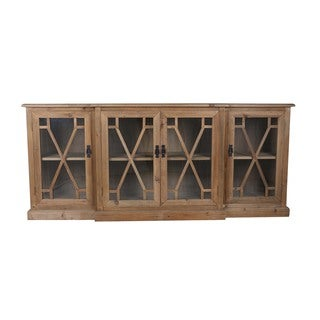 Aurelle Home Reclaimed French Media Console