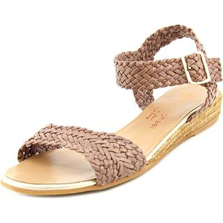 Eric Michael Women's Tally Lexi Brown Leather Espadrille