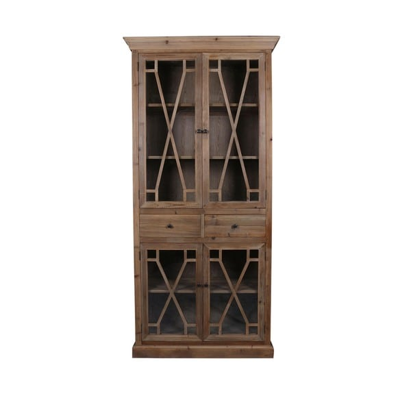 Shop Aurelle Home French Double Door Cabinet Free Shipping Today