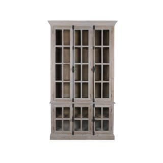 Aurelle Home French Reclaimed Double Door Cabinet
