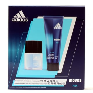 Adidas Moves Men's 2-piece Gift Set