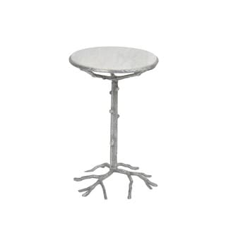 Aurelle Home Branch Aluminum Side Accent Table