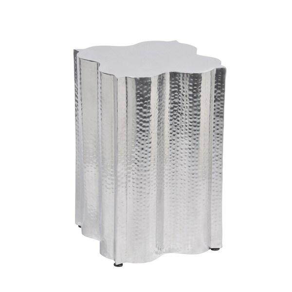 Aurelle Home Aluminum Side Table